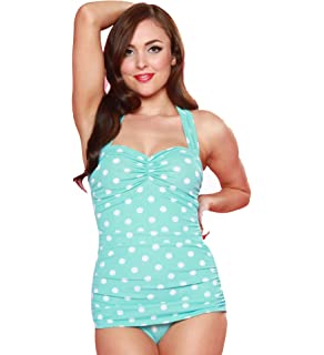 7b0f790077d Esther Williams Women s 50 s Pin Up Swimsuit at Amazon Women s ...