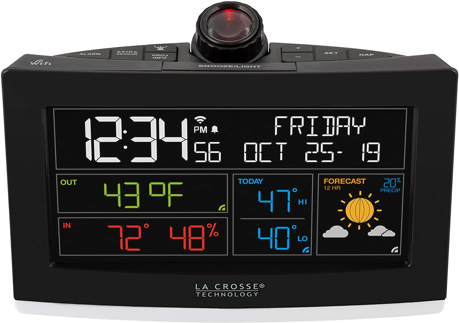 """A picture of this clock to better elaborate """"Best Wifi clocks 2020: The most Accurate"""""""