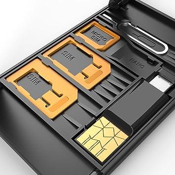 Adaptador de tarjeta SIM + Convertidor tarjeta SIM y del ...