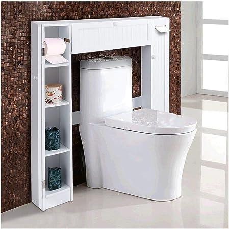 Lapha - Armario de Almacenamiento para baño (Madera Fina, para ...
