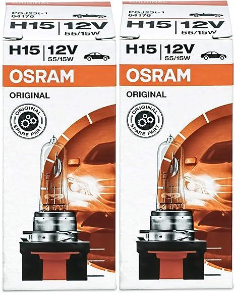 Osram Originale Line H15, 64176, 12 V Lampadine auto, macchina