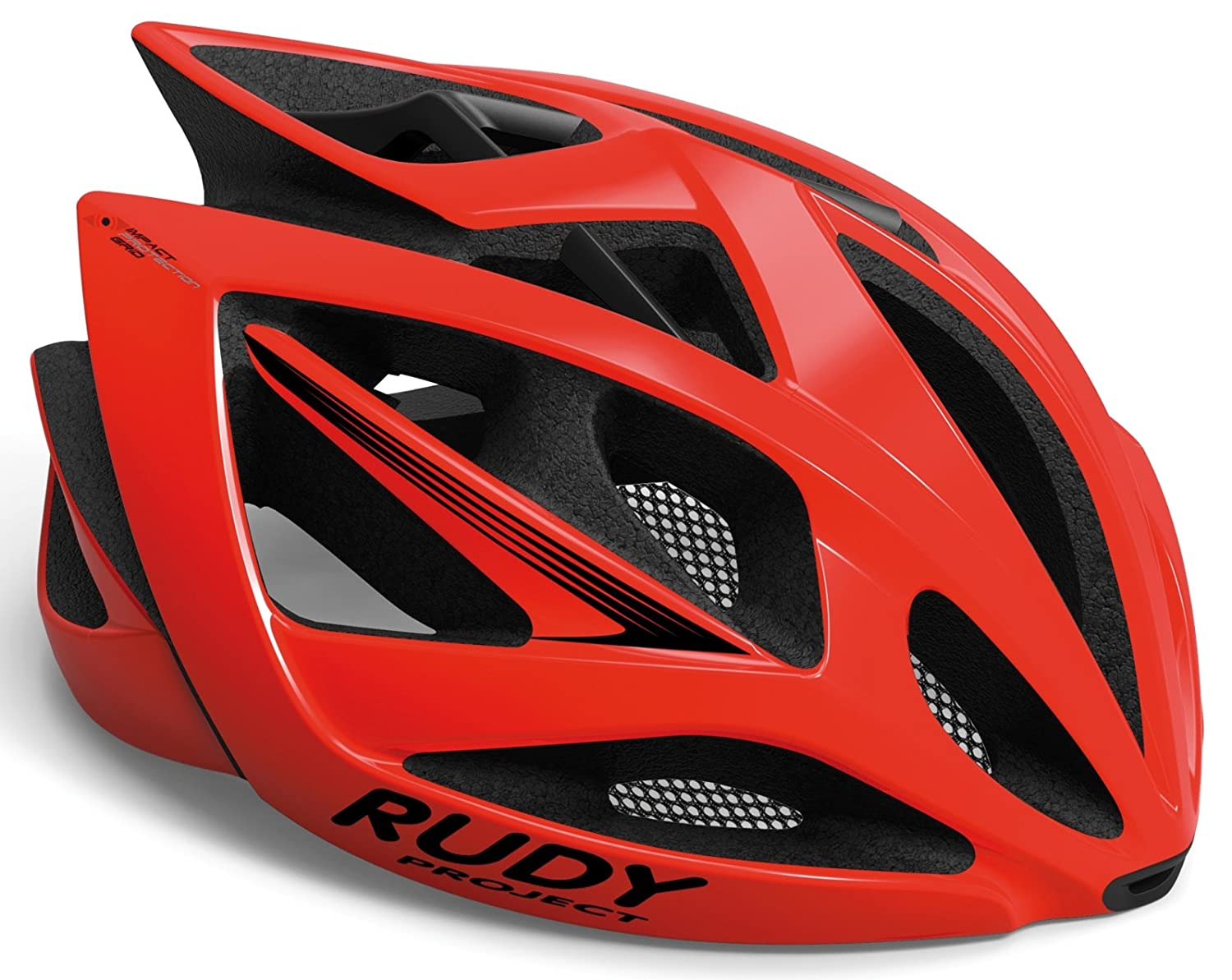 Rudy Project Airstorm Helmet Fire ROT Shiny 2018 Fahrradhelm