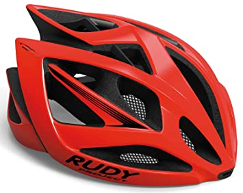 Rudy Project Airs torm Bicicleta Casco - Red/Black Shiny: Amazon.es ...