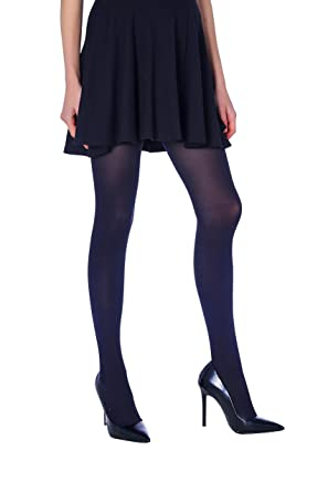 c242fb023 Intuicia Microfiber Opaque Tights 80D - Best Stockings for Women - 3D  Classic Waist Women s Pantyhose