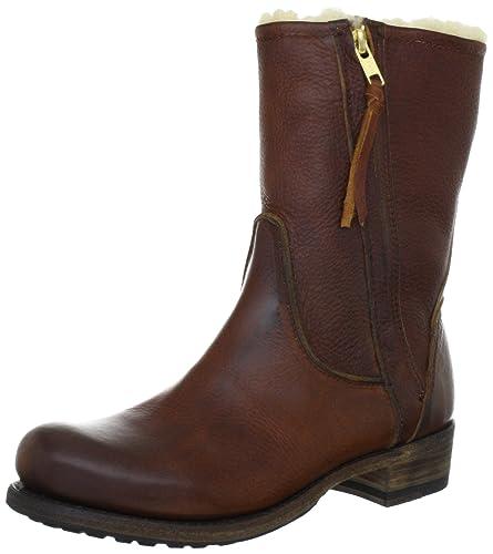 88cf5b6ad4f4d Blackstone MARY BLACK Damen Biker Boots: Amazon.de: Schuhe & Handtaschen