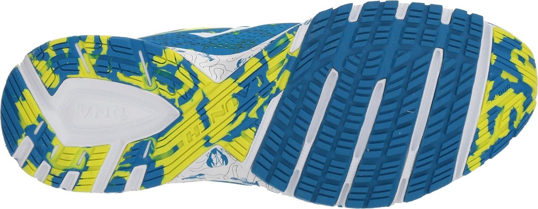 Brooks Mens Launch 5 Boston Blue//Nightlife//White 8 D US Variation