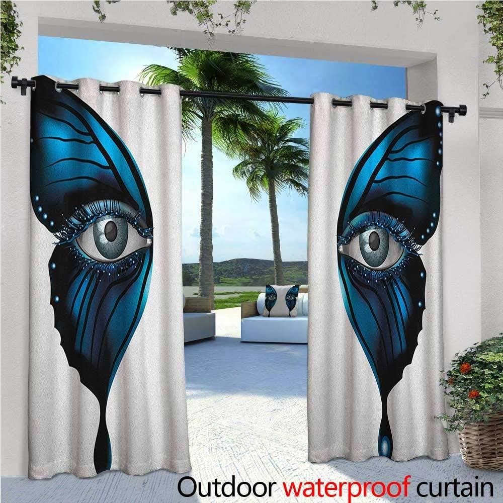 Cortina de privacidad para exteriores con ojo para pérgola diseño ...