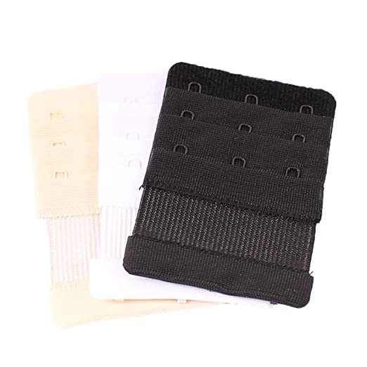 62ab28cce36d3 Amazon.com  6 Pack  Bra Extender with Elastic 3 Hooks  Clothing