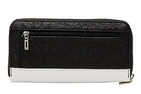 Portefeuille et porte-monnaie Guess de la gamme Greyson pour femme ( noirmulti)  Amazon.fr  Vêtements et accessoires caea77cb273