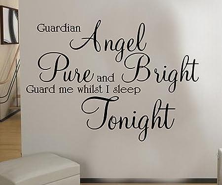 Graz Design - Adhesivo decorativo para pared diseño ángel de la ...