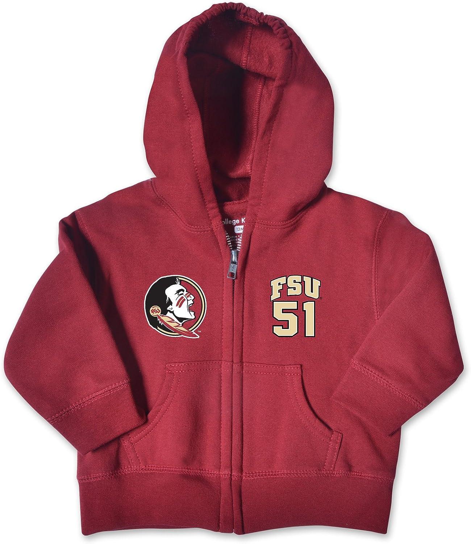 College Kids NCAA Infant Zip Hood