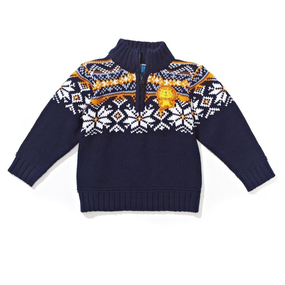 Boys Intarsia Sweater