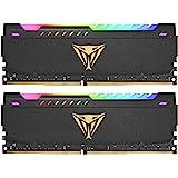 Patriot Viper Steel RGB DDR4 32GB (2 x 16GB) 3200MHz Kit - PVSR432G320C8K