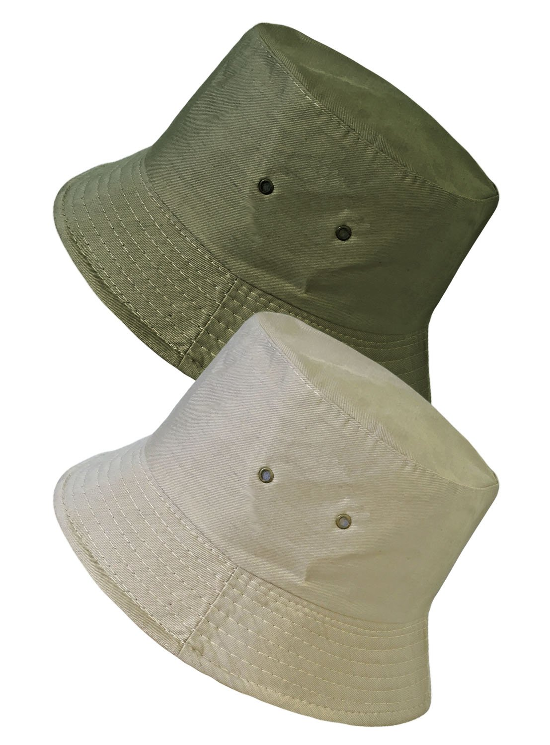 TOSKATOK UPF 50+ Unisex Mens Womens Reversible Cotton Blend Summer Bucket/Bush Hats