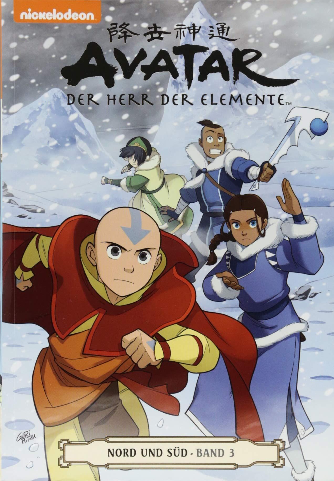 Avatar  Der Herr Der Elemente Comicband 16  Nord Und Süd 3