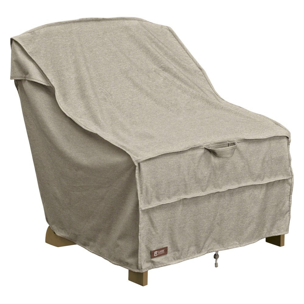 Classic Accessories Montlake Adirondack Patio Chair Cover in Gray