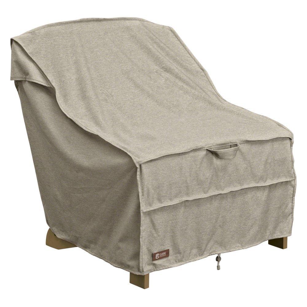 Classic Accessories Montlake Adirondack Patio Chair Cover in Gray