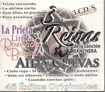 Amazon.com: 46 EXITOS ORIGINALES 3 REYNAS DE LA CANCION: Music