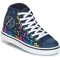 Heelys Unisex Kids Fitness Shoes, Multicolour (Denim/Rainbow Block Print 000), 12 UK