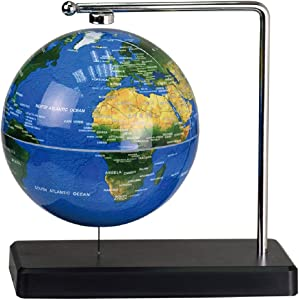 ScienceGeek Floating Globe Moon Geography Science Toys Desktop Decoration (Globe)