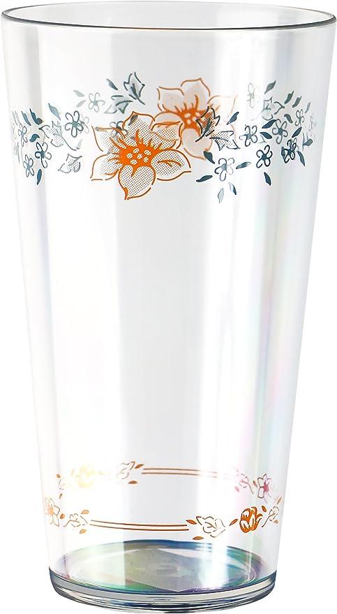 Corelle Coordinates 19oz Acrylic Glass Set of 6 NEW