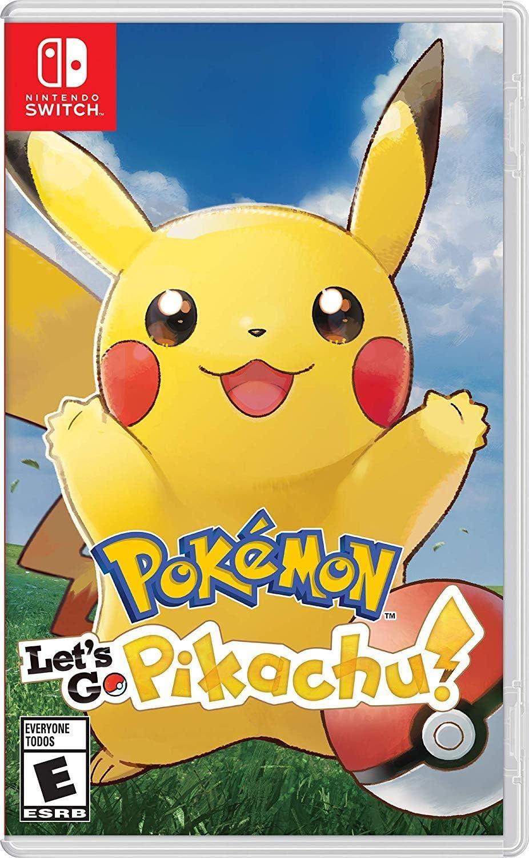 Amazon Com Pokemon Let S Go Pikachu Switch Nintendo Of