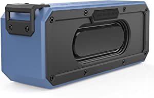 SINOBAND S400 PLUS 40W Waterproof Bluetooth Speaker, IPX7, Dustproof and Shockproof Portable, Bluetooth 4.2, 15 Hour Playtime Stereo Pairing,Tablets, and Other Bluetooth-Capable Devices, Blue