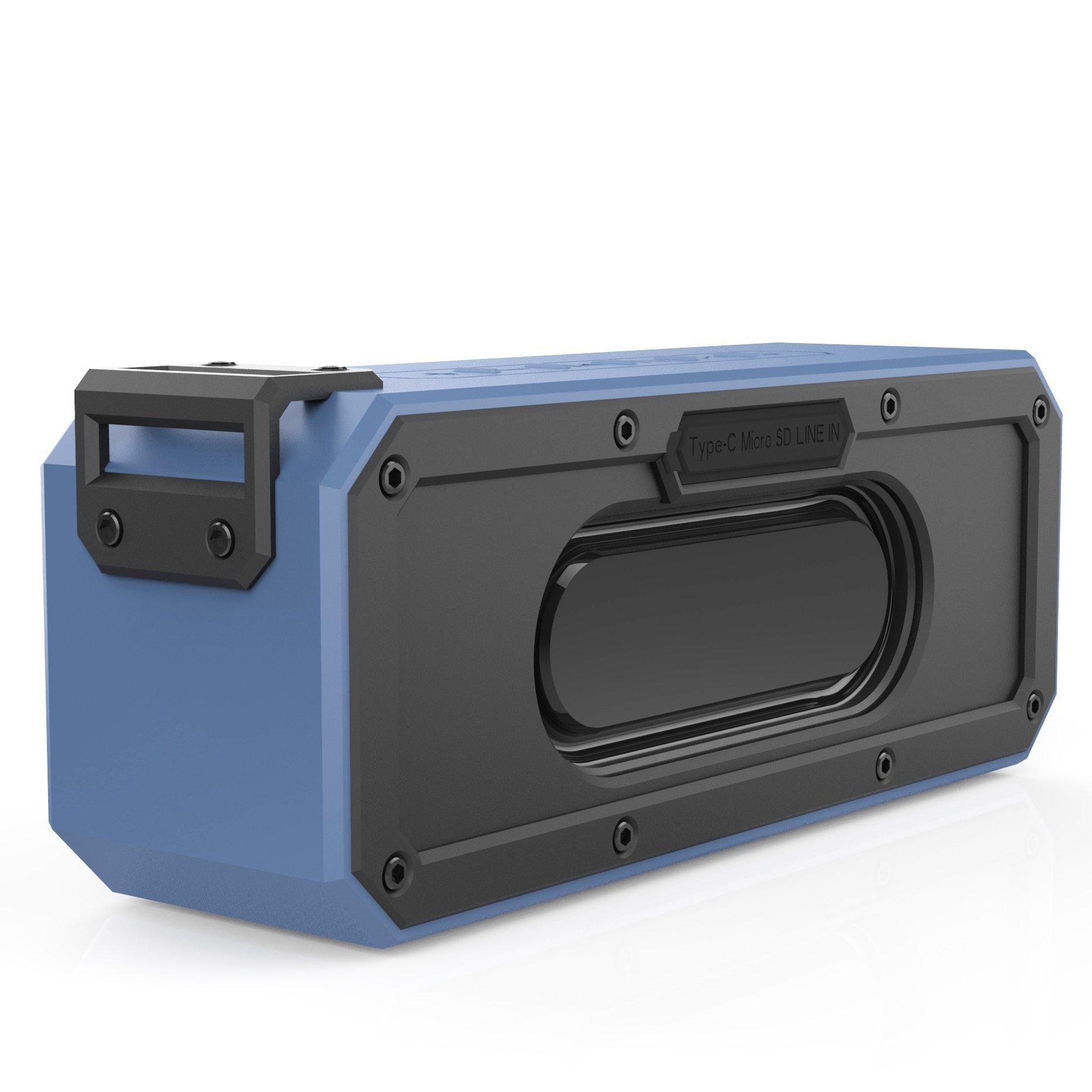 Parlante Bluetooth Sinoband S400 Plus 40w Waterproof Ipx7 Du