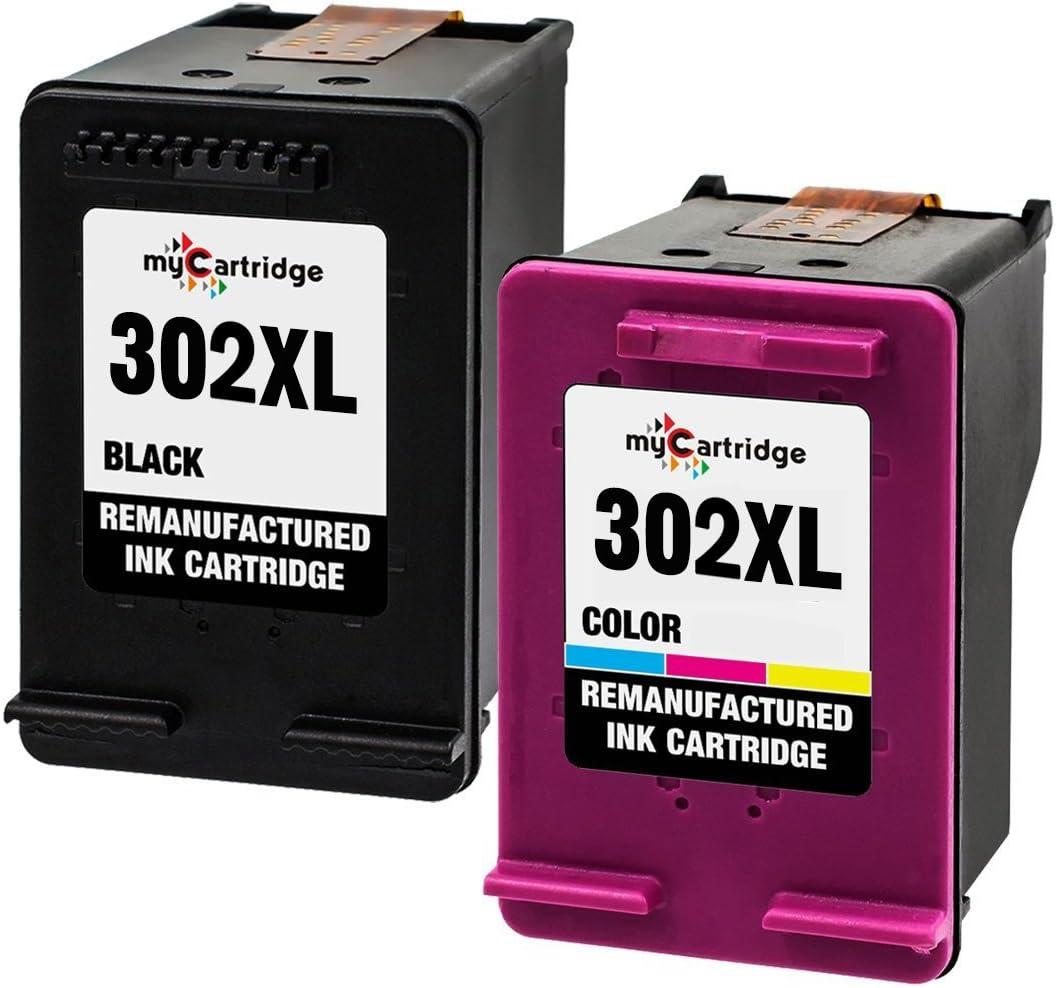 MyCartridge Cartucho de Tinta Compatible HP 302xl para HP Envy ...