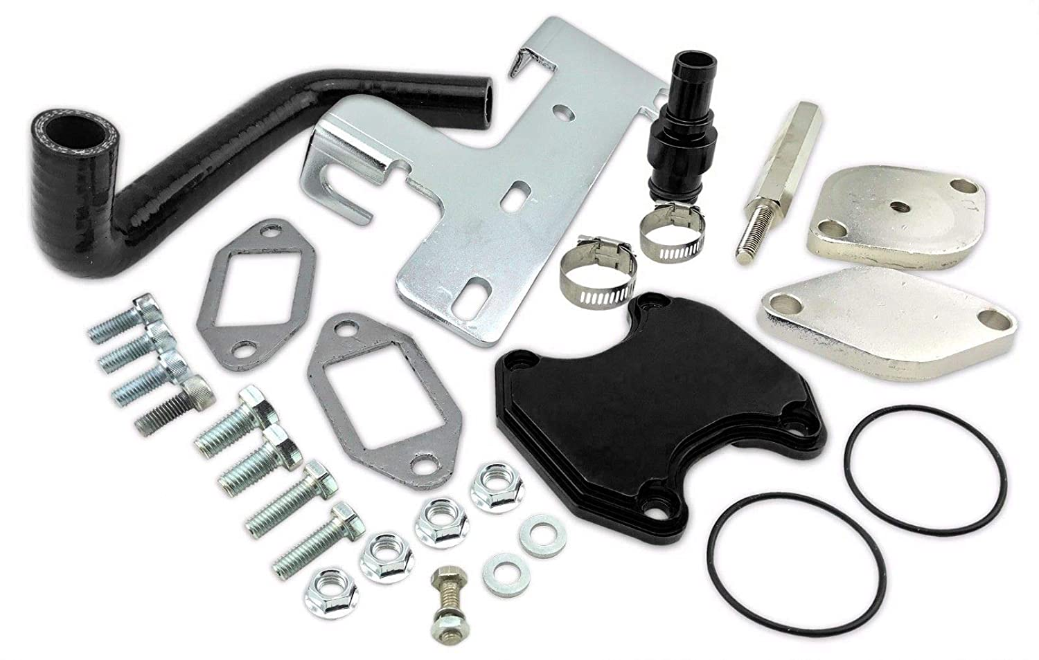 EGR Valve Cooler Delete Kit For 2010-14 Dodge Ram 2500 3500 6.7L Cummins Diesel