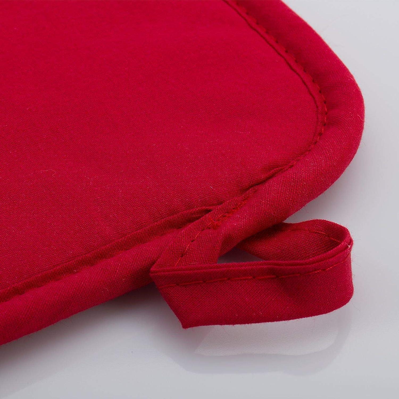 Westmark kuechentextilien Cotone Rosso//Nero 70.00 x 85.00 x 0.10 cm