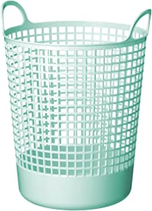 Like-It SCB-10 Scandinavia Style Big Round Basket, 14.96 x 16.14 x 20.47, Mint Blue
