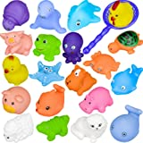 Bath Toys, Chickwin Baby Bathing Toys Kids Bath Play Water Pool Tub Animals Sounding Toy (10pcs)