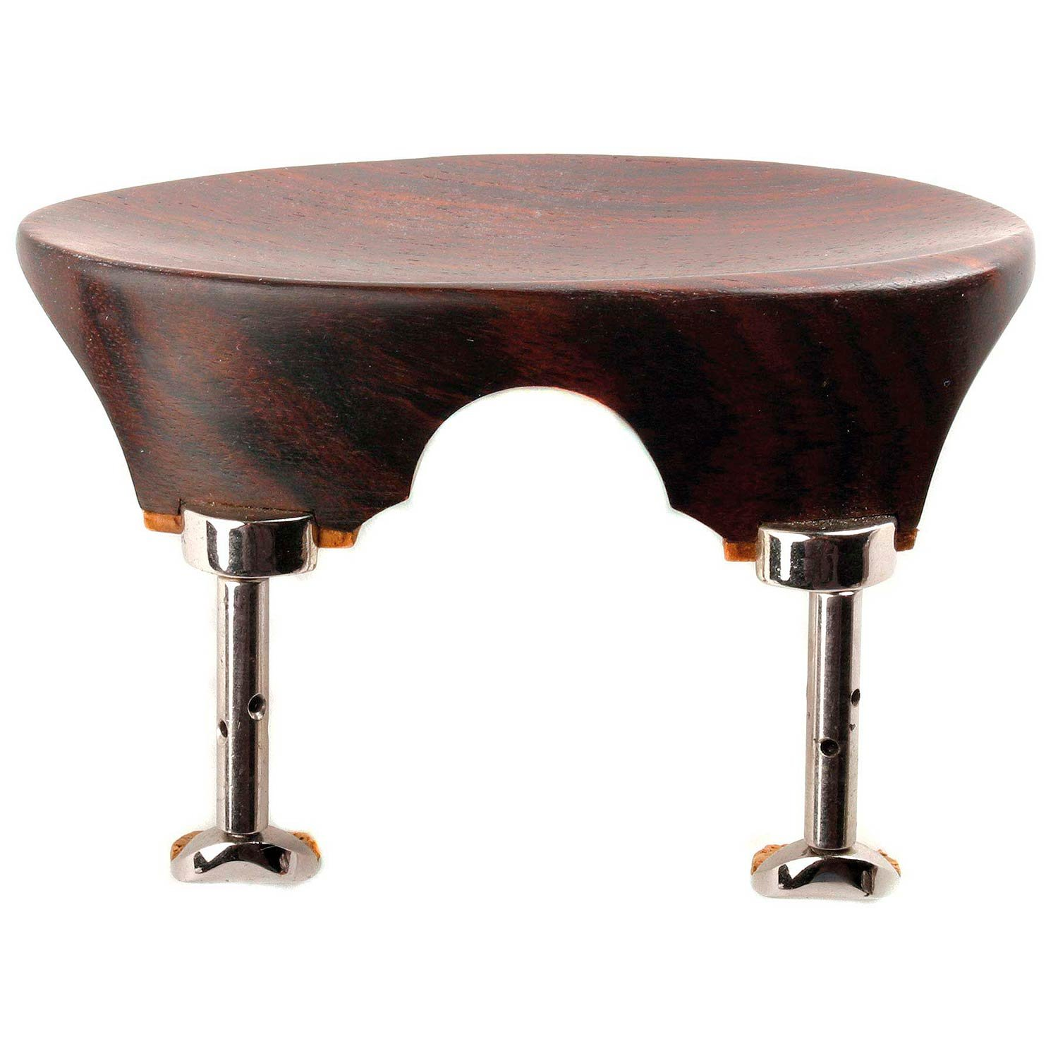 Flat Flesch All-Size Viola Chinrest - Rosewood with Hill Bracket