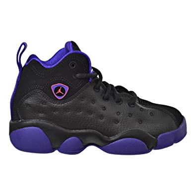 fceedbf866a0 Jordan Jumpman Team II GP Little Kid s Shoes Black Ember Glow Purple 845202-