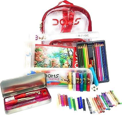 Image result for Doms Smart School Kit In A Zipper Bag