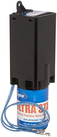 Supco MPR5 Ultra Start Compressor Capacitor Hard Start Kit 1 to 3 HP  Compressors 208/230/265V: Electronic Relays: Amazon.com: Industrial &  ScientificAmazon.com