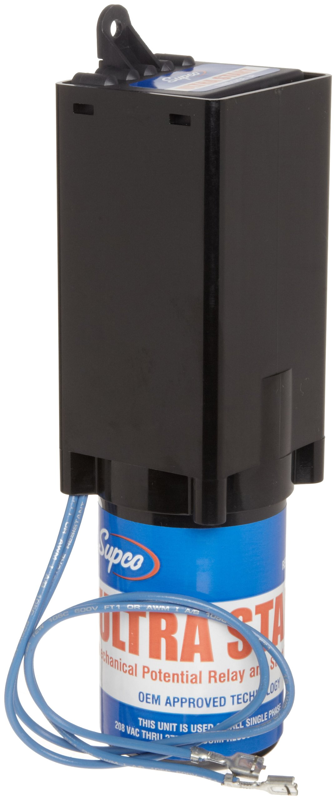 Supco MPR1 Ultra Start Series Hard Start, 3 1/2 to 5 hp, 189-277 F and 330V Capcitor Size