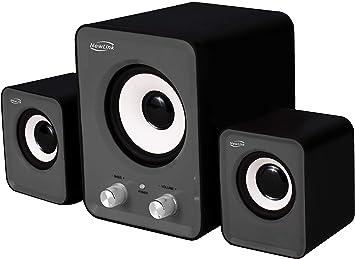 Caixa De Som 2.1 Power Song Com Subwoofer 16W Rms Sp202 New Link | Amazon.com.br