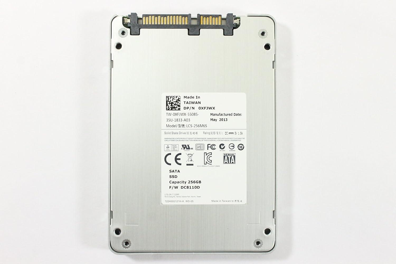 "Dell XFJWX LCS-256M6S 2.5"" SATA SSD 256GB 6 GB/s LITE-ON IT CORP Laptop Hard Drive Precision M6700"
