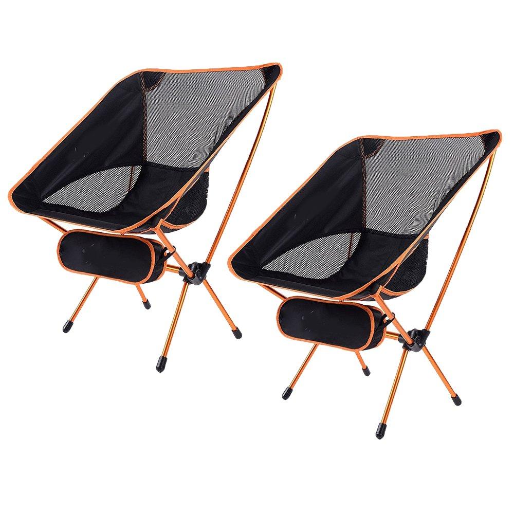 Tragbare Camp Chair, Premium Camping Möbel Perfekt Für Camping, Strand, Backpacking, Wandern und Outdoor-Festivals. Kompakt und Heavy Duty