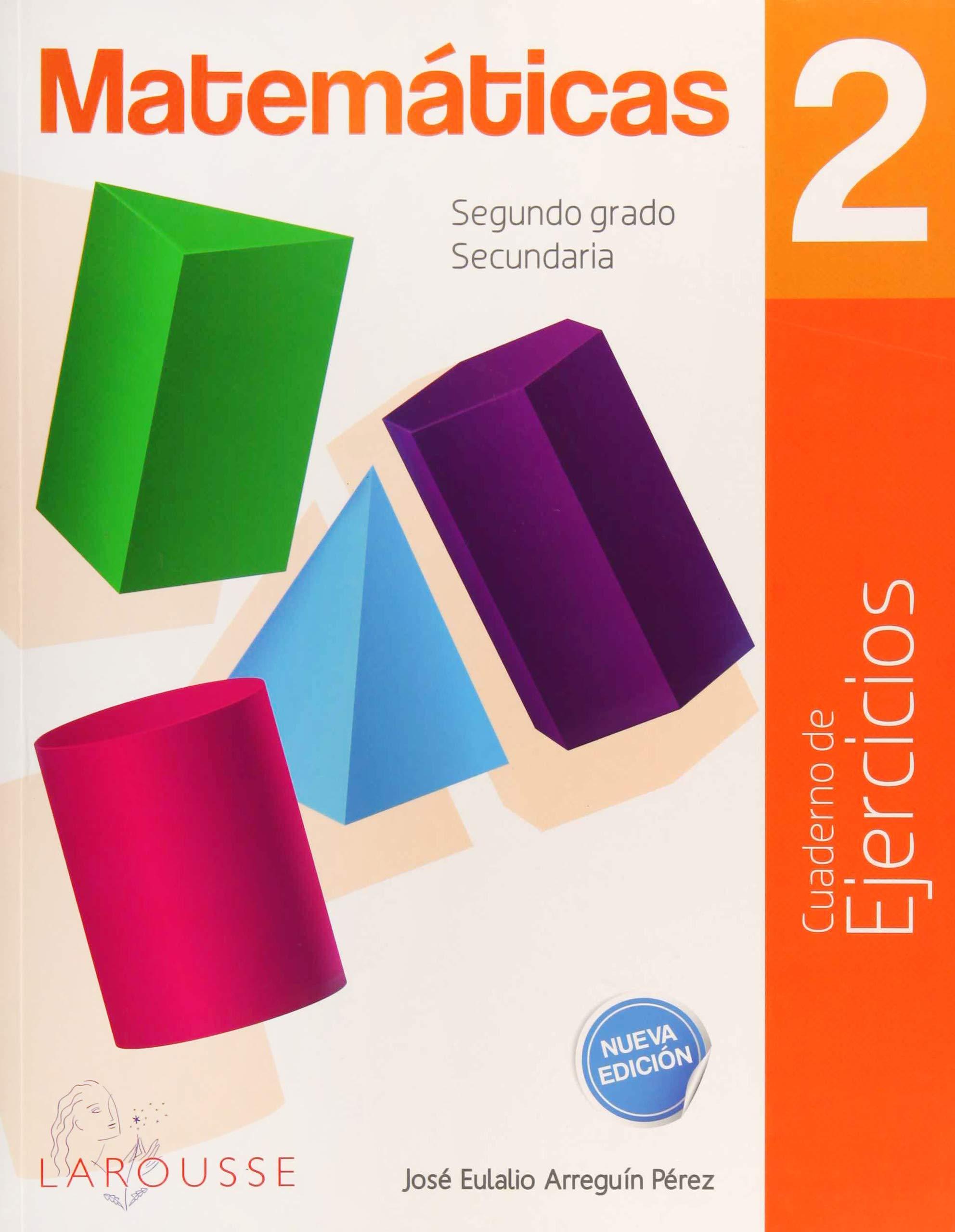 Matematicas 2 Cuaderno De Ejercicios Secundaria Varios 9786072121089 Books
