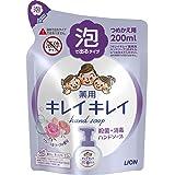 Kirei Kirei anti-bacterial foaming hand soap (floral fantasia), 200ml