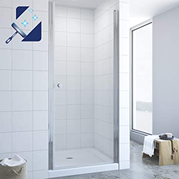 Pendeltür Nischentür Schwingtür Duschabtrennung Dusche Duschtür Duschkabine ESG