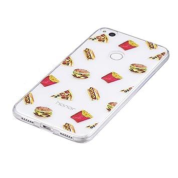 coque huawei p8 lite hamburger