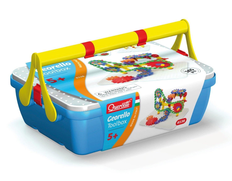 ケルチェッティ Quercetti カラフルギア ツールボックス Georello Tool Box ボーネルンド [並行輸入品]   B00FKUOLR8
