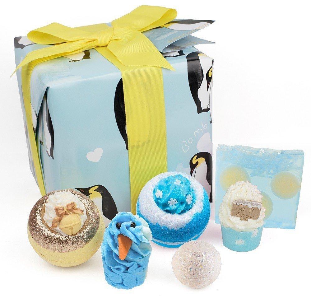 Bomb Cosmetics Penguin Party Handmade Gift Pack GHOLSOA04