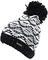 Cairn - Arianne hat noir/blc l - Bonnet à pompon - Noir - Taille Unique