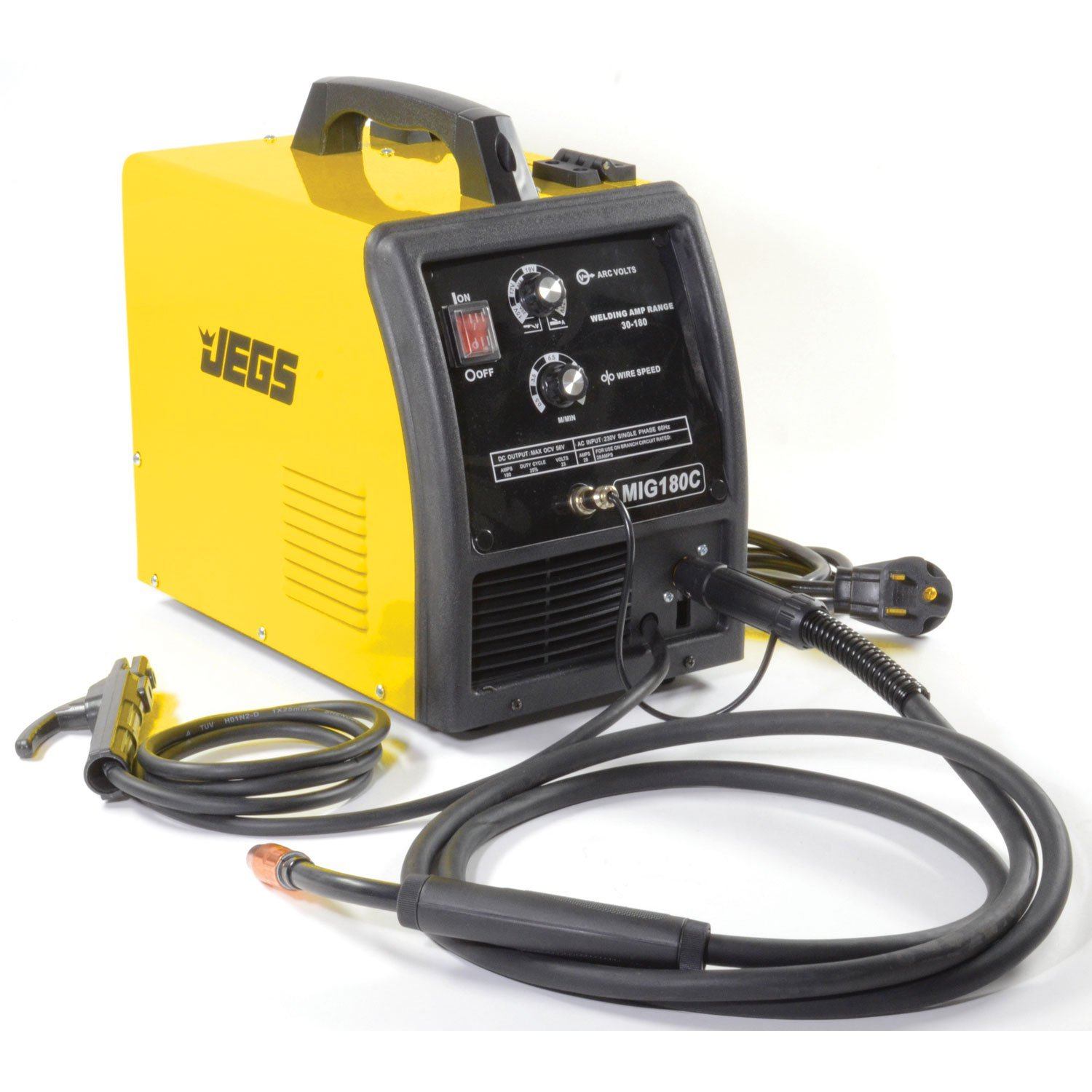 JEGS Performance Products 81541 MIG/MMA 180 Welder 220V AC