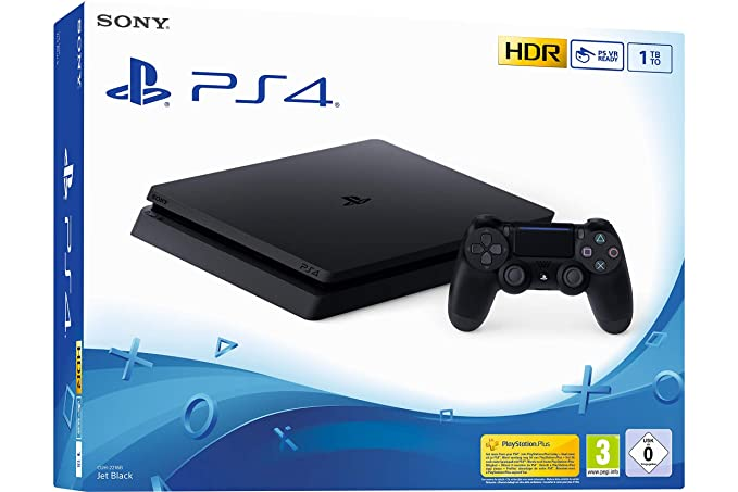 Sony PS4 Slim 1TB Negro 1000 GB Wifi - Videoconsolas ...